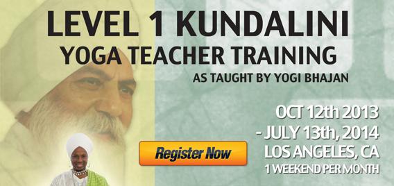 Level 1 Kundalini Yoga Teacher Training: Los Angeles