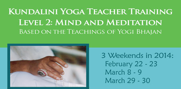 Level 2 Teacher Training: Mind and Meditation: Los Angeles