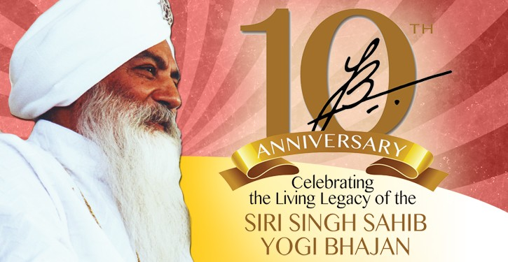Yogi Bhajan 10 Anniversary Celebration
