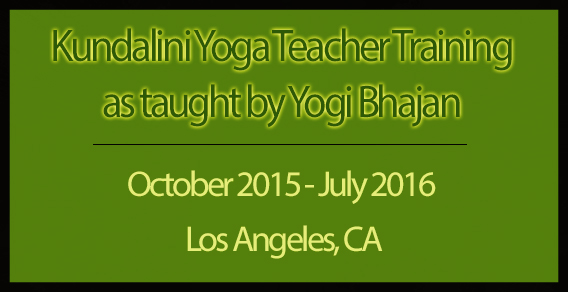 Level 1 Kundalini Yoga Teacher Training: Los Angeles