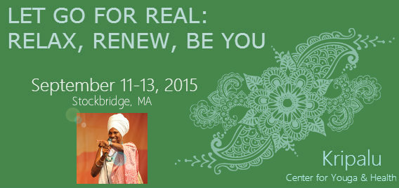 Let Go for Real: Relax, Renew, Be You