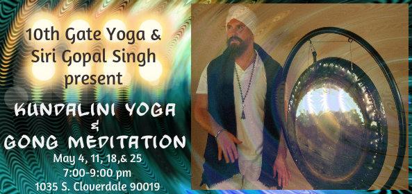 Gong Meditation Workshop