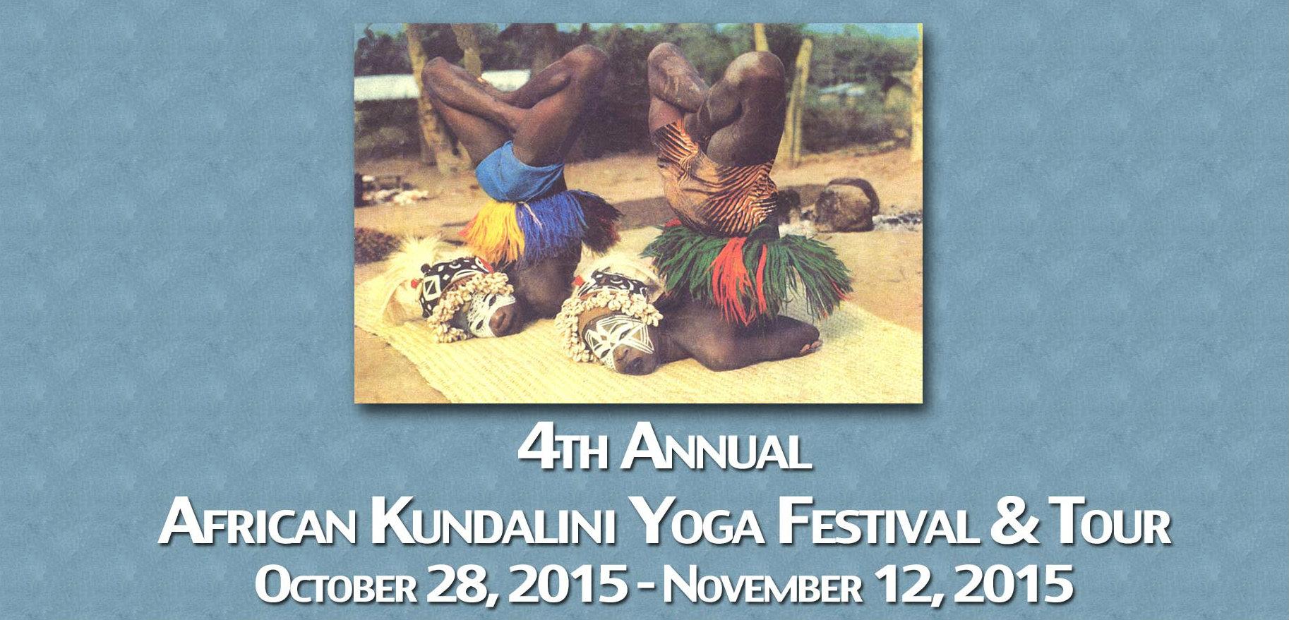 African Kundalini Yoga Festival