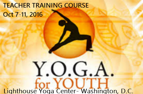 Y.O.G.A. For Youth Training Course- Washington, D.C.