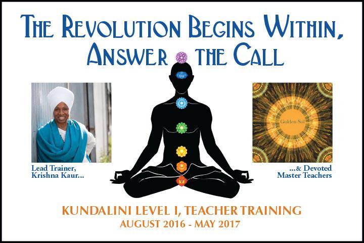 Level 1 Kundalini Yoga Teacher Training at Golden Sol Yoga: Los Angeles