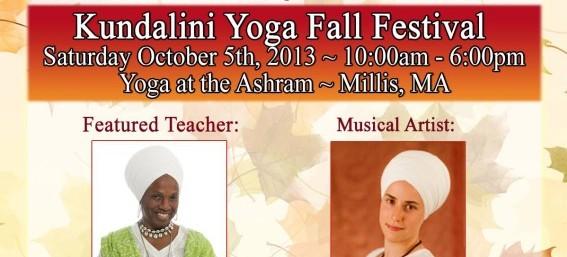 Kundalini Yoga Fall Festival: Millis, MA