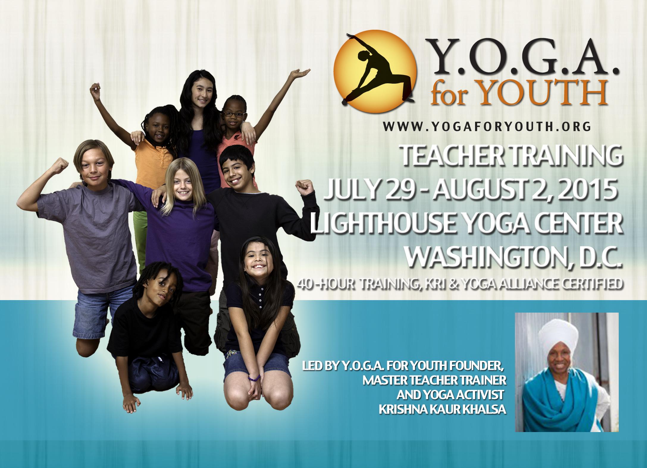 Y.O.G.A for Youth in Washington, DC
