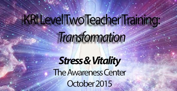 Vitality & Stress – Level Two Teacher Training in Los Angeles