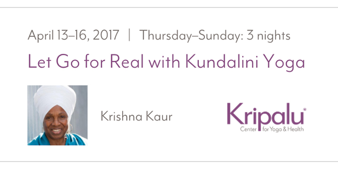 Let Go for Real Workshop at Kripalu